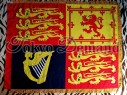 Royal Standard Flag, Printed Flag, Ceremony Flag, Marching Band Flag,