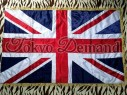 Union Jack, Stitched Flag, Ceremonial Flag, Flag Pole, British Flag, Marching Band Flag, Flute Band Flag,