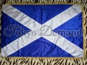 Scotland Jack, Stitched Flag, Ceremonial Flag, Marching Band Flag, Flute Band Flag,